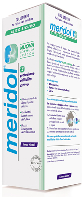 Collutorio Meridol® Alito Sicuro