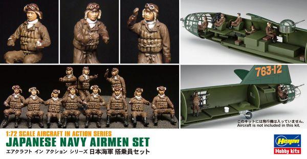 Japanese Navy Airmen Set