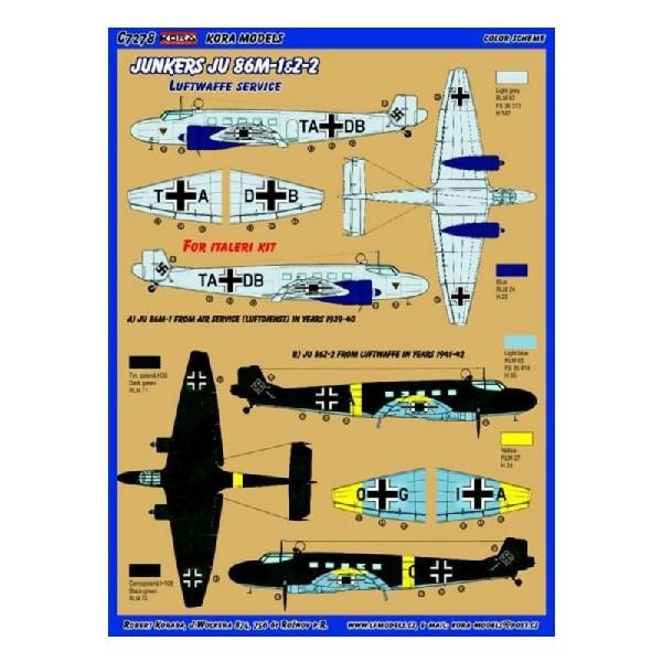 JU 86M-1&Z-2