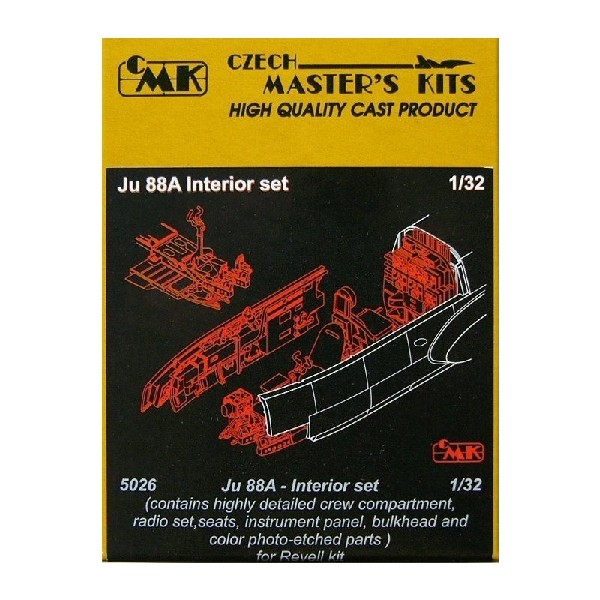JU 88A INTERIOR SET (REV)