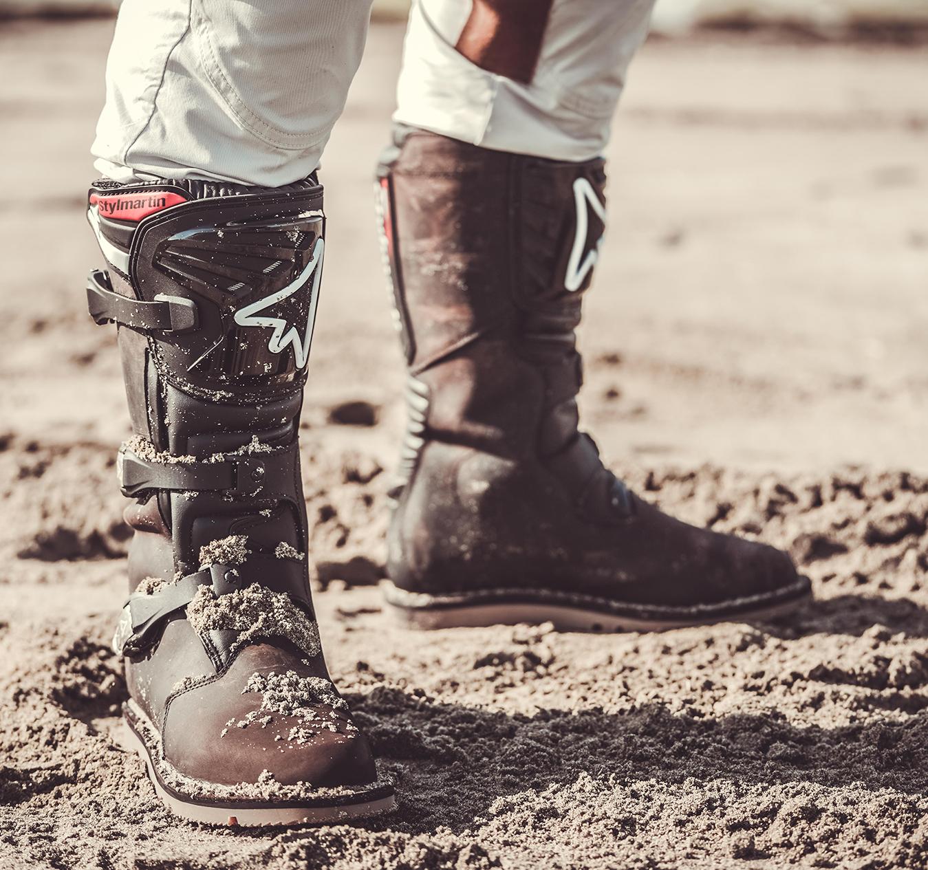 Le chiusure migliori per gli stivali da moto