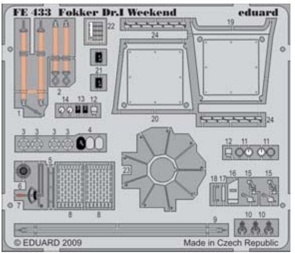 FOKKER DR.I (EDU-WEEKEND)