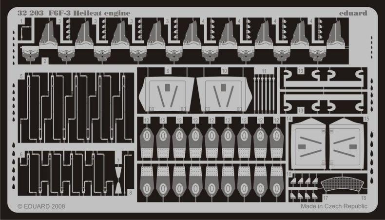 F6F-3 HELLCAT ENGINE (TRU