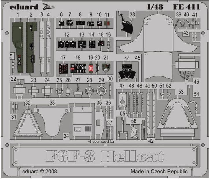 F6F-3 HELLCAT S.ADH.