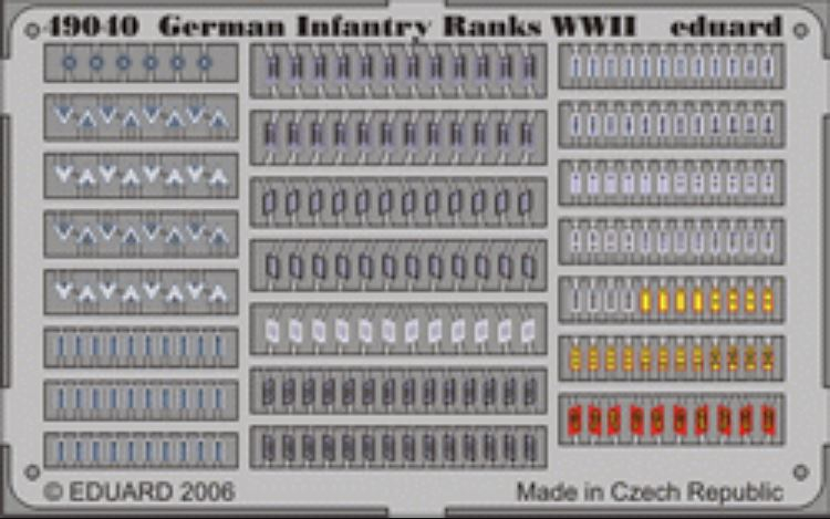 GERMAN INFANTRY GRADI WWI