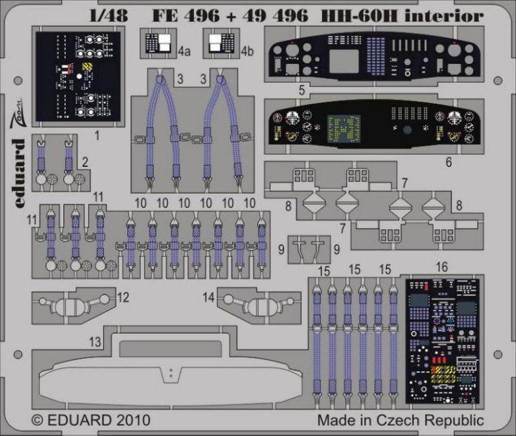 HH-60H INTERIOR S.A. (ITAL)