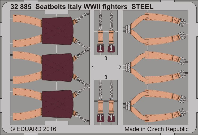 ITALY WWII FIGHTERS STEEL