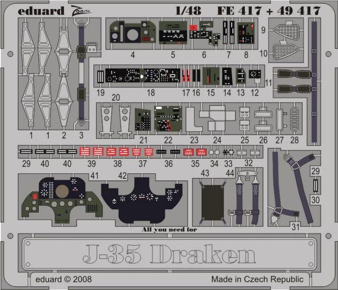 J-35 DRAKEN S.ADH.