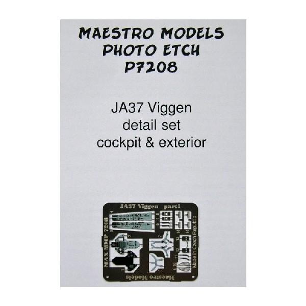 JA37 VIGGEN INTERIOR & EX
