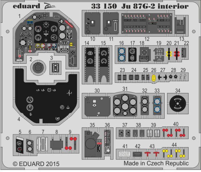 JU 87G-2 INTERIOR