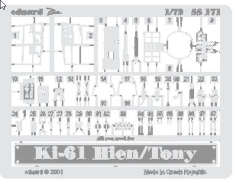 KAWASAKI KI-61 HIEN/TONY