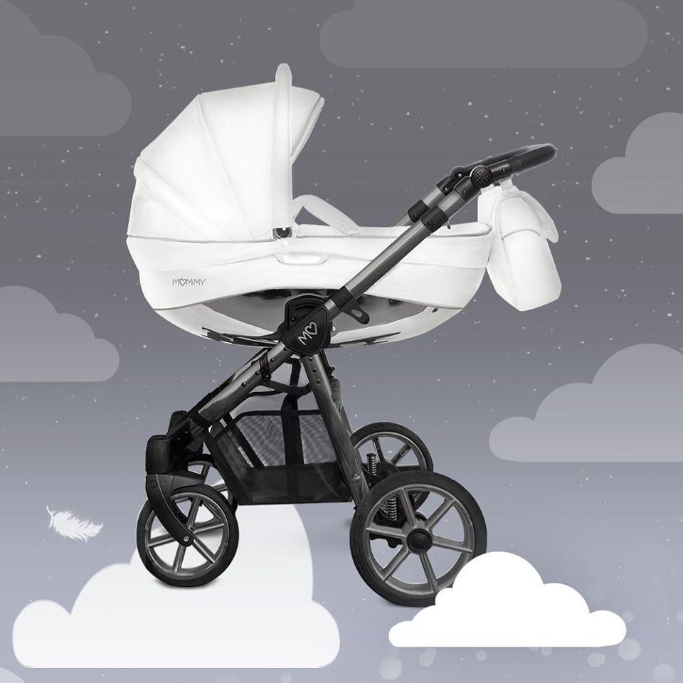 Baby Atelier - TRIO BABYACTIVE MOMMY GLOSSY WHITE - Space Grey