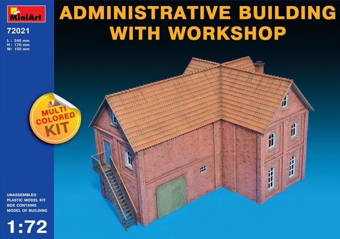 ADMINISTRATIVE BUILDING WITH WORKSHOP