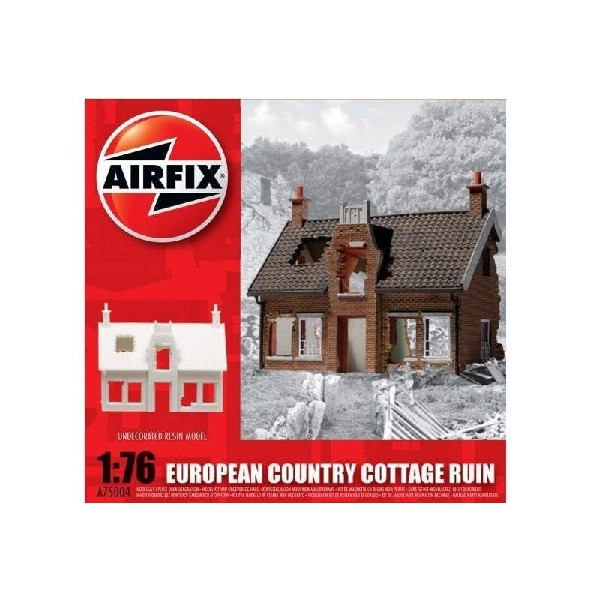 EUROPEAN RUINED COUNTRY COTTAGE