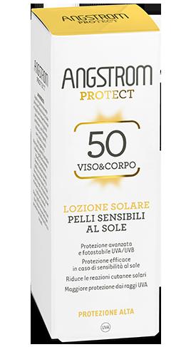 Angstrom PROTEZIONE spf 50 viso / corpo Lozione solare pelli sensibili 100ml