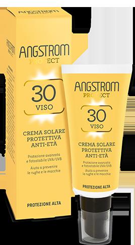 ANGSTROM viso PROTEZIONE 30 Product spf 30 Crema solare antietà protettiva  40ml