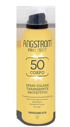 Angstrom spf 50 Spray solare trasparente protettivo 150ml