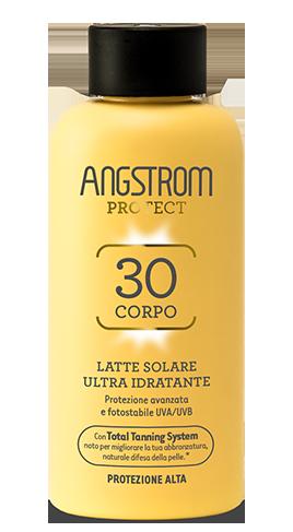 Angstrom Product spf 30 Latte solare ultra idratante 200ml
