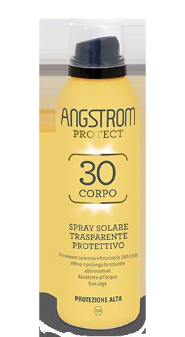 Angstrom spf 30 Spray solare trasparente protettivo 150ml