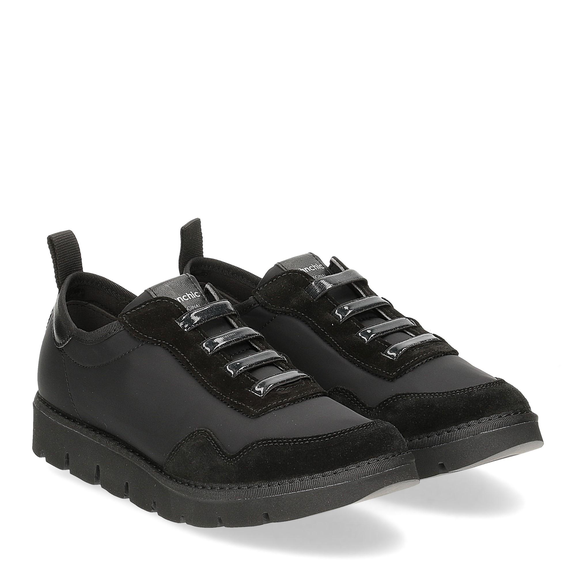 Panchic P05W nylon suede total black