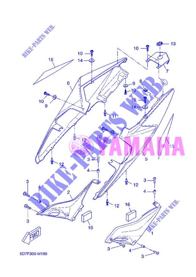 Fianchetto SXYamahaYZF-R125