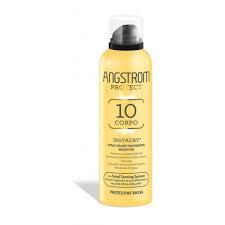 Angstrom Protect Corpo Instadry Spray Solare Trasparente Protettivo SPF 10