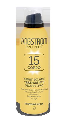Angstrom Product spf 15 Spray solare trasparente protettivo 150ml