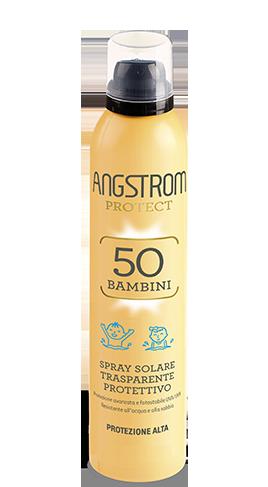 Angstrom PROTEZIONE spf 50 Spray solare trasparente 250ml