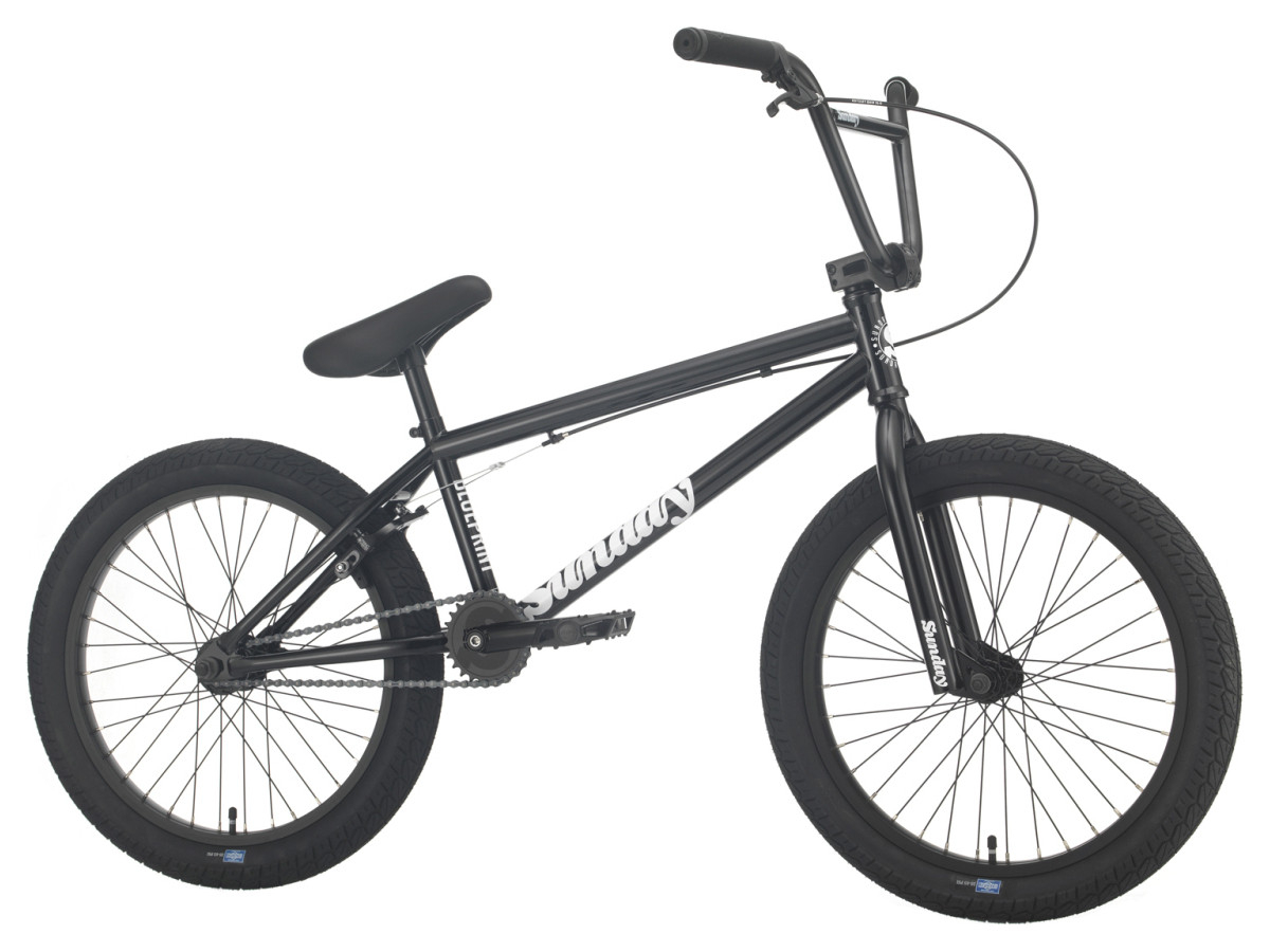 Sunday Blueprint XL 2021 Bici Bmx   Colore Black