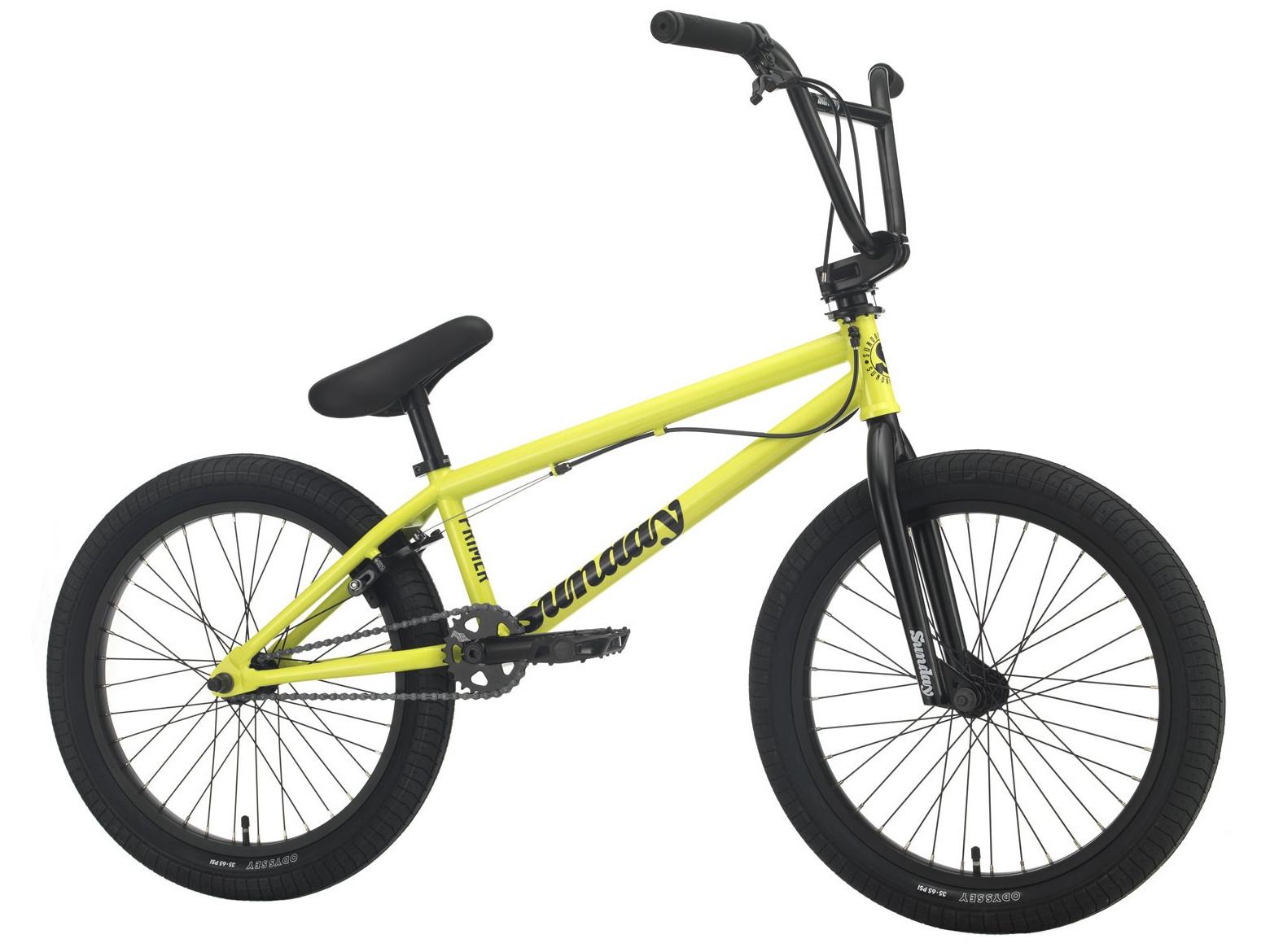 Sunday Primer Park 2021 Bici Bmx   Colore Giallo