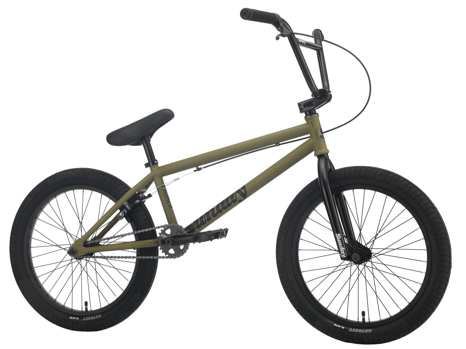 Sunday Primer XL 2021 Bici Bmx   Colore Verde