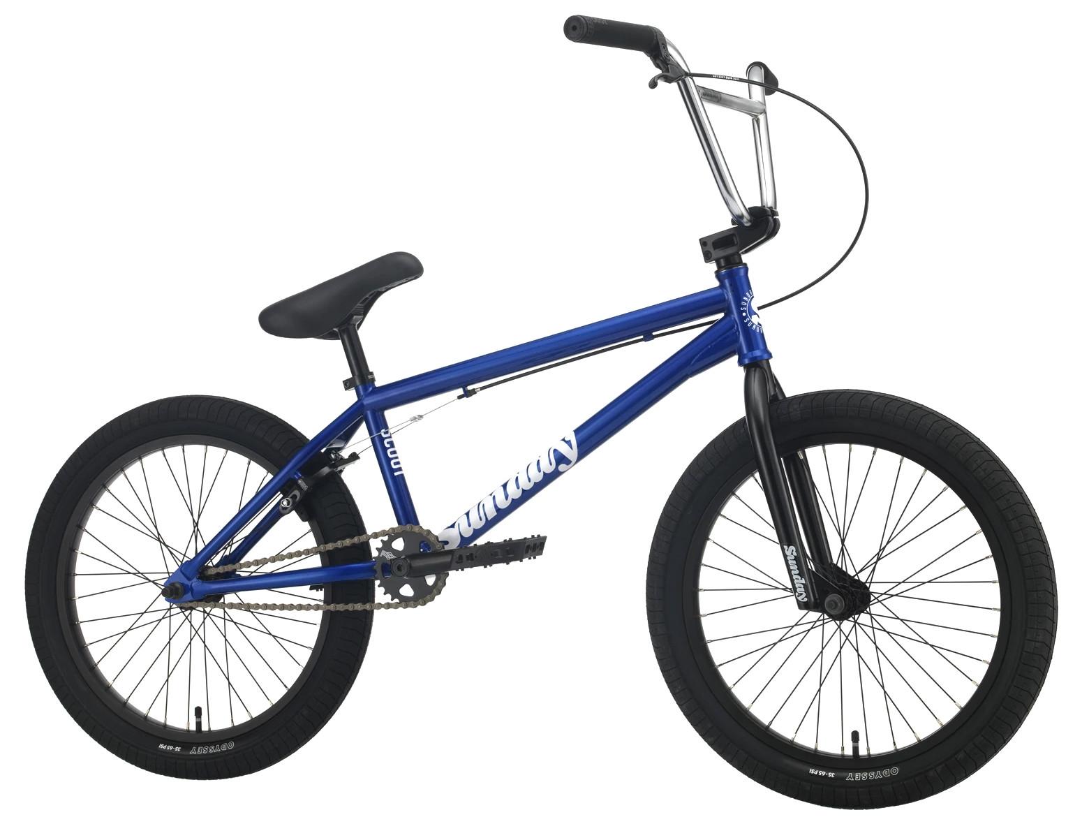 Sunday Scout 2021 Bici Bmx   Colore Candy Blue