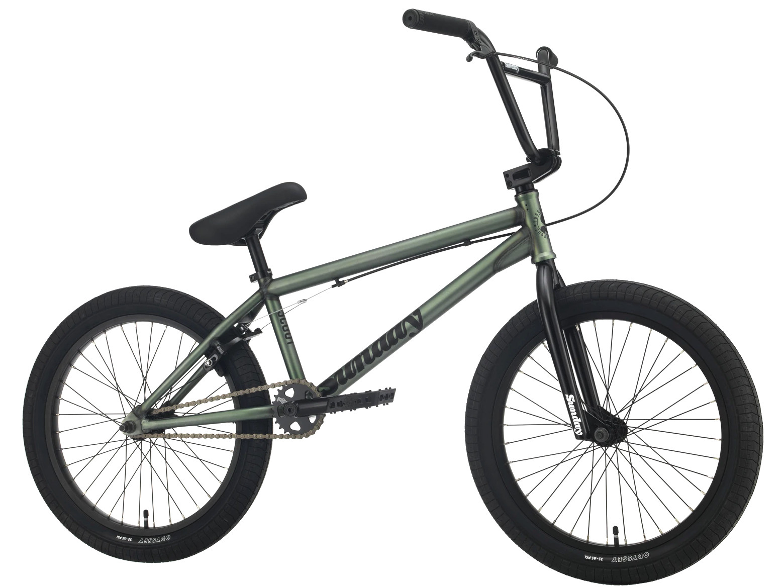 Sunday Scout 2021 Bici Bmx | Colore Frost Green