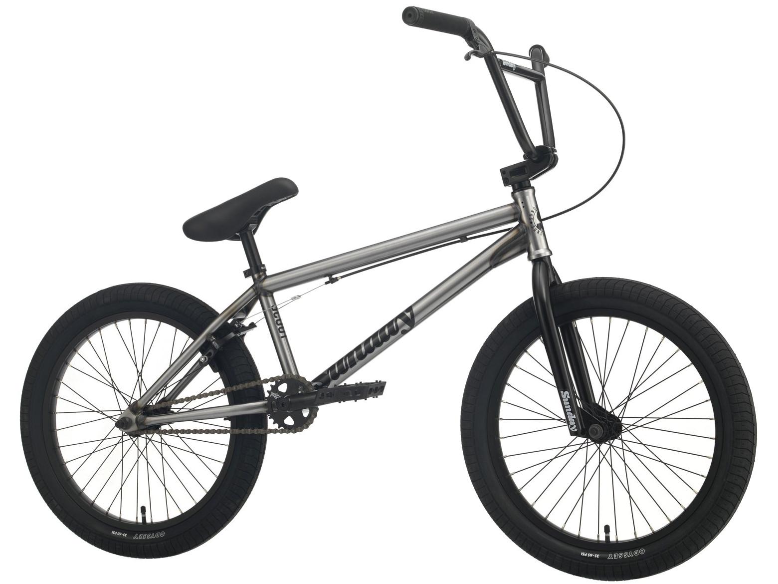 Sunday Scout XL 2021 Bici Bmx   Colore Raw