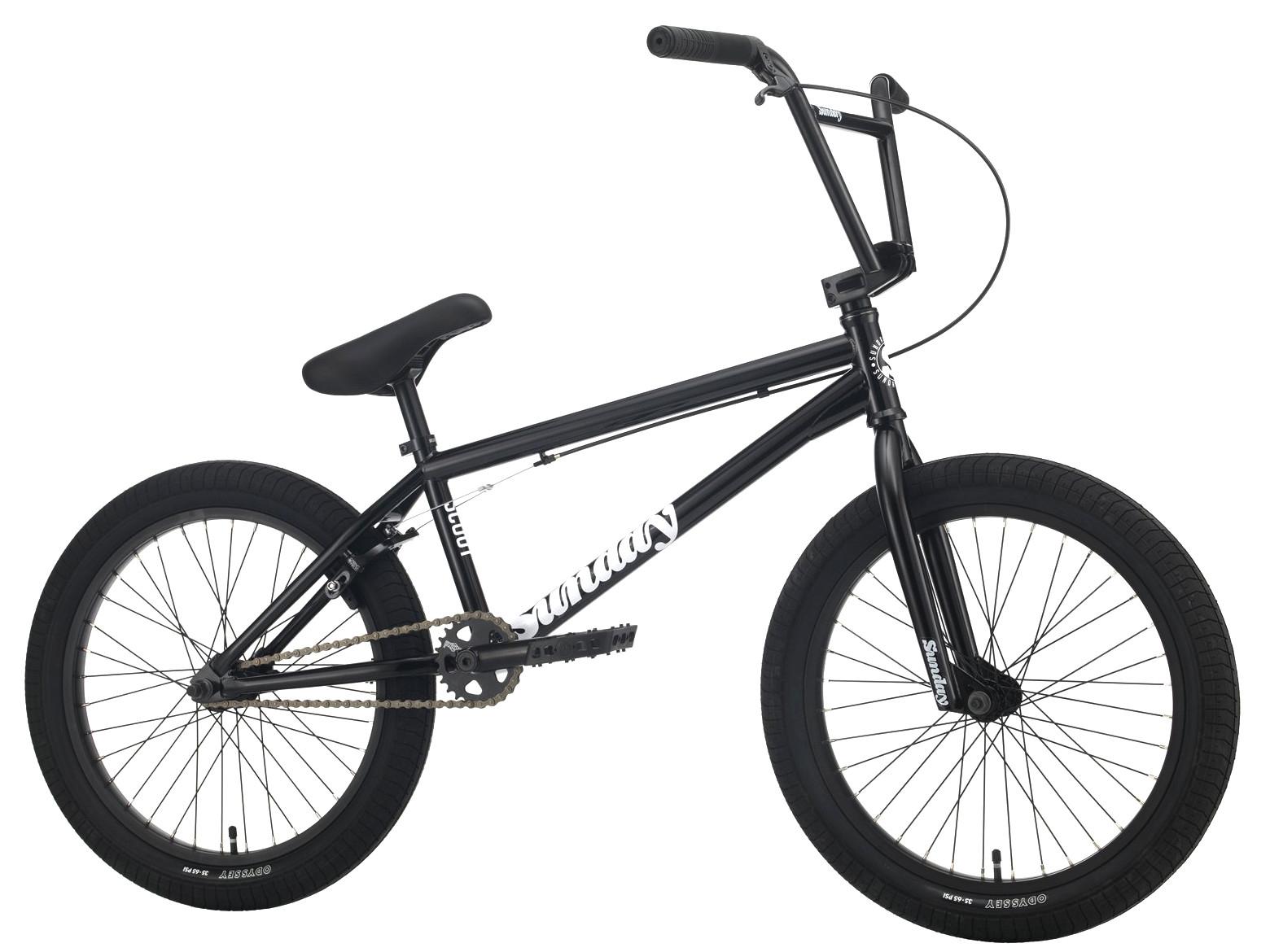 Sunday Scout XL 2021 Bici Bmx | Colore Gloss Black