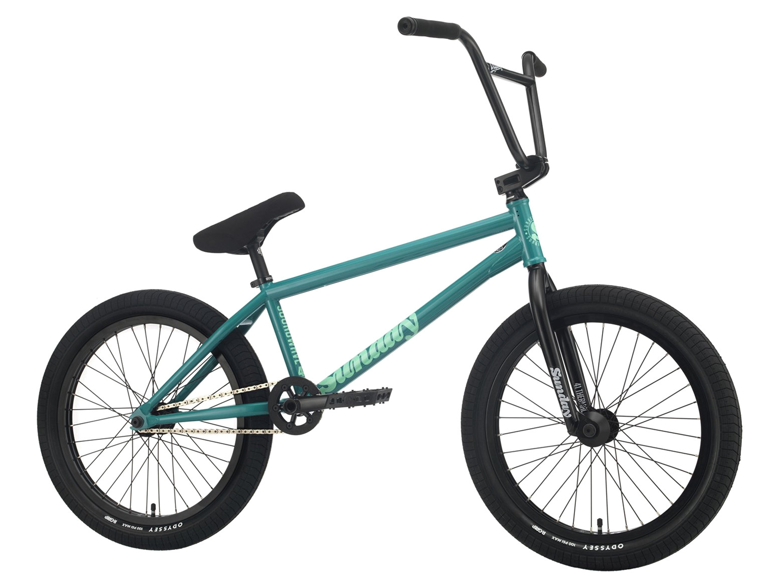 Sunday Soundwave Young 2021 Bici Bmx | Colore Billard Green