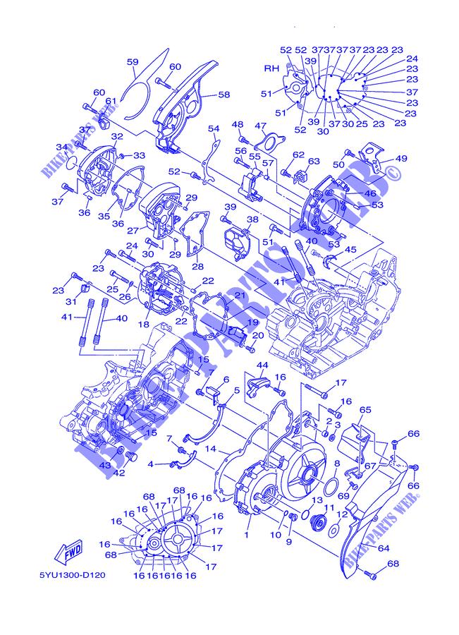 Guarnizione Coperchio Frizione Yamaha MT-01