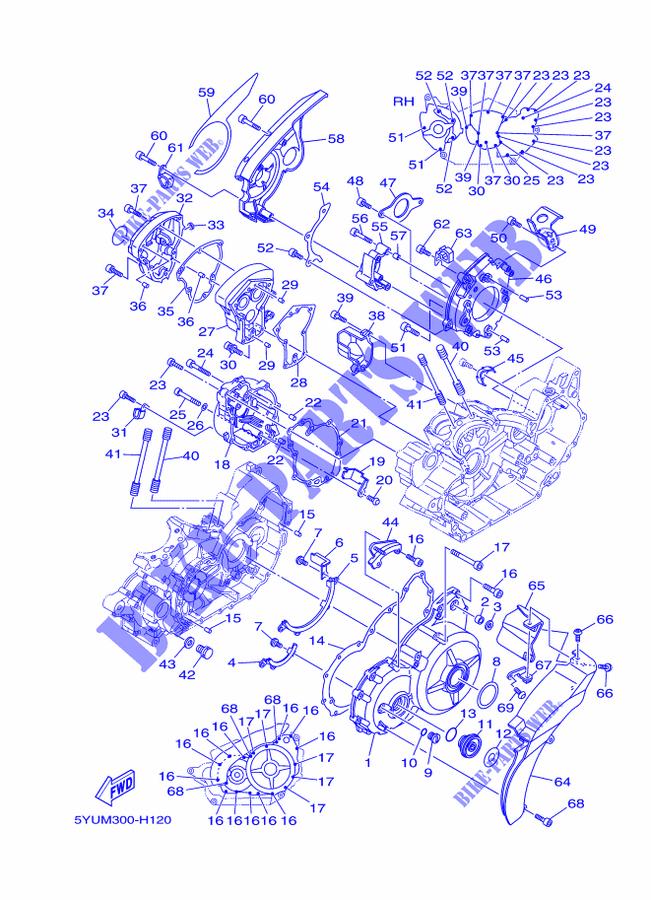 Guarnizione Yamaha MT-01/S