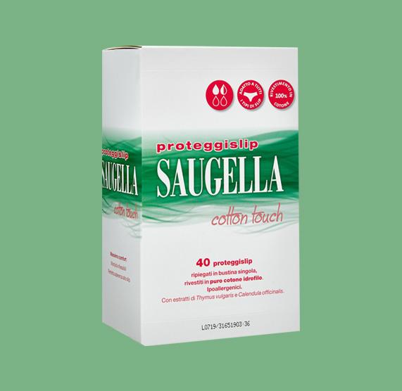 SAUGELLA® COTTON TOUCH PROTEGGISLIP confezione 40