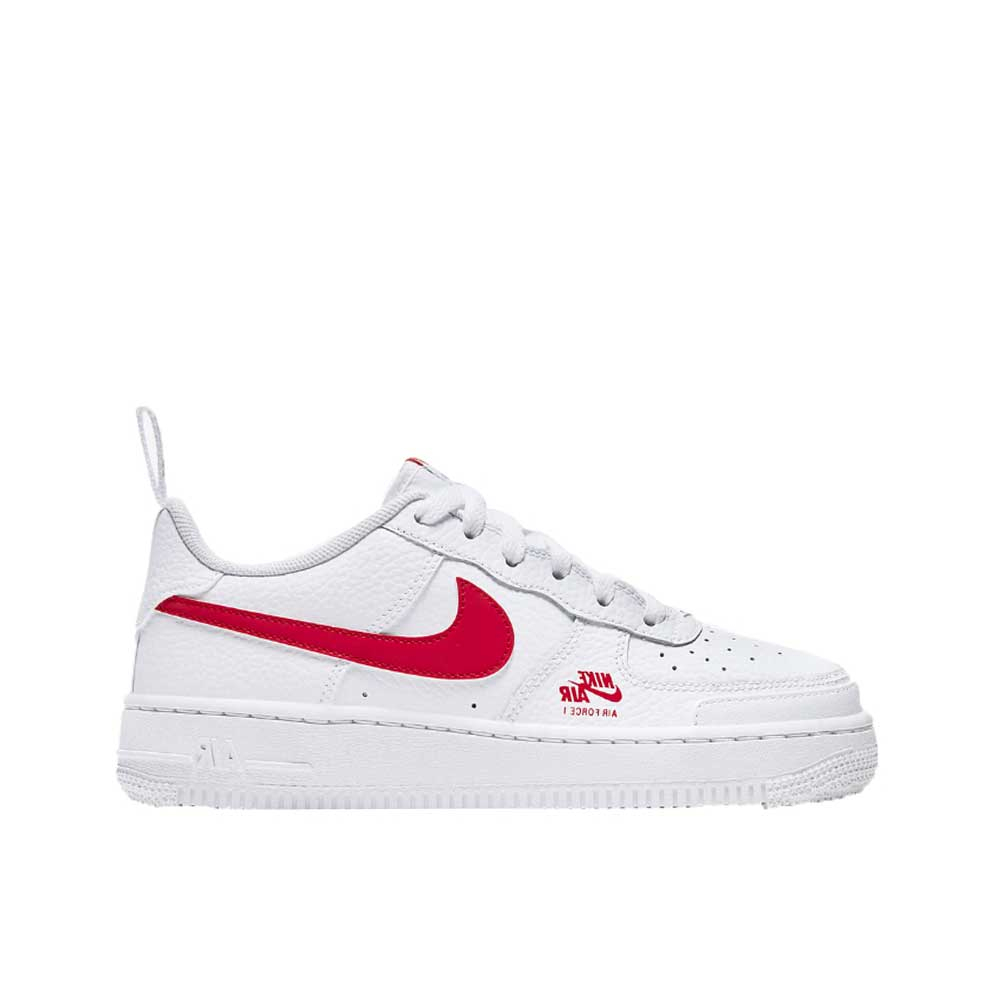 Nike Air Force 1 Red White Unisex