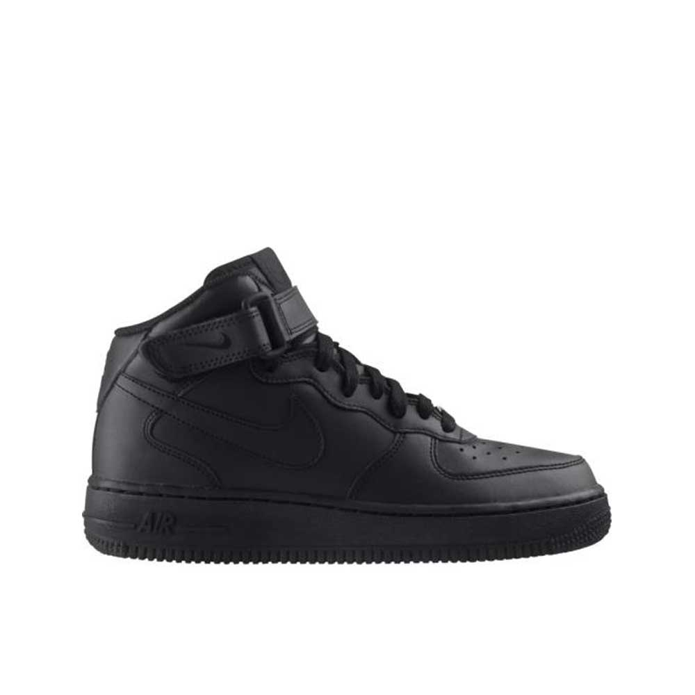 Nike Air Force 1 Mid Total Black Unisex