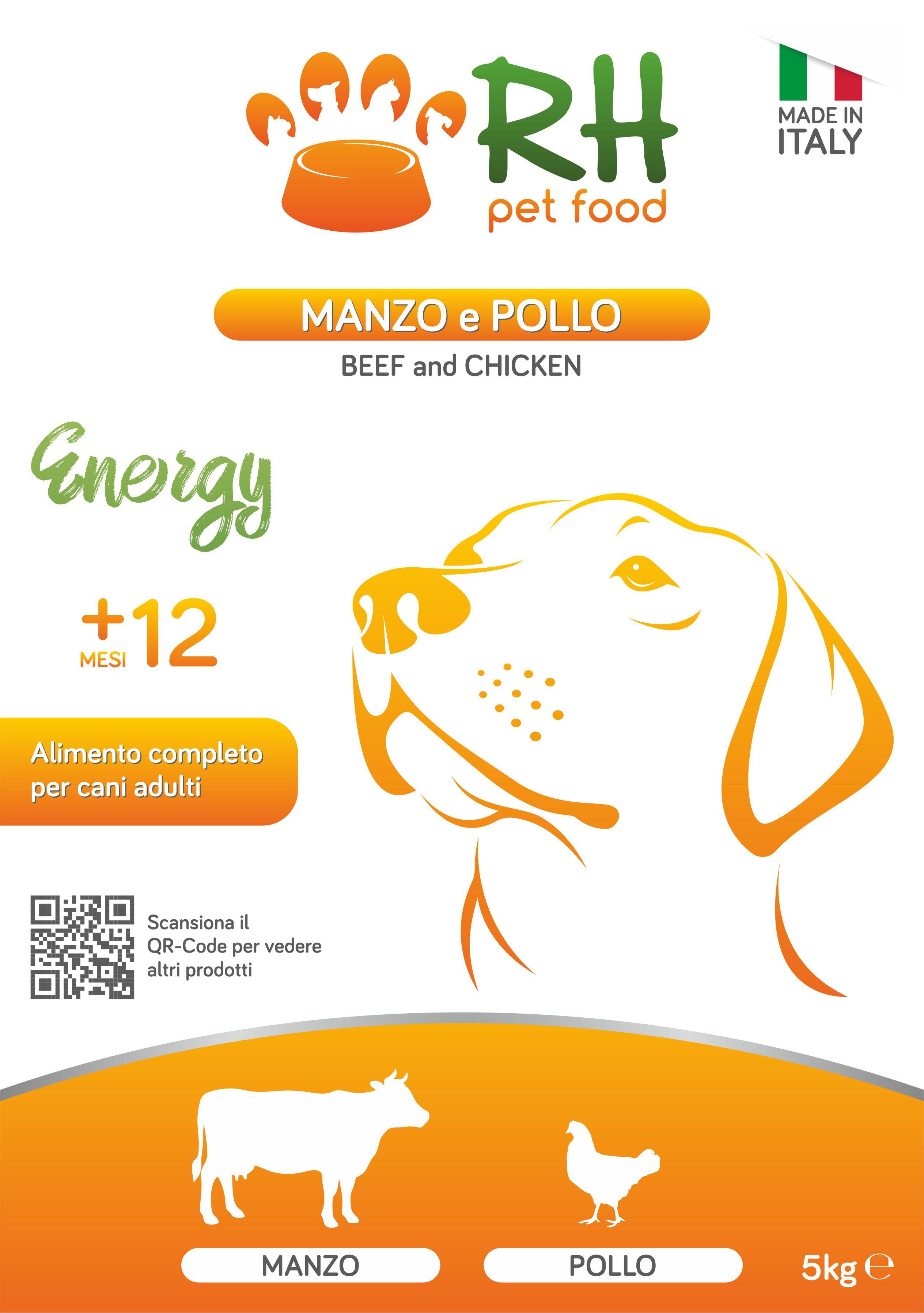 Manzo e pollo ENERGY
