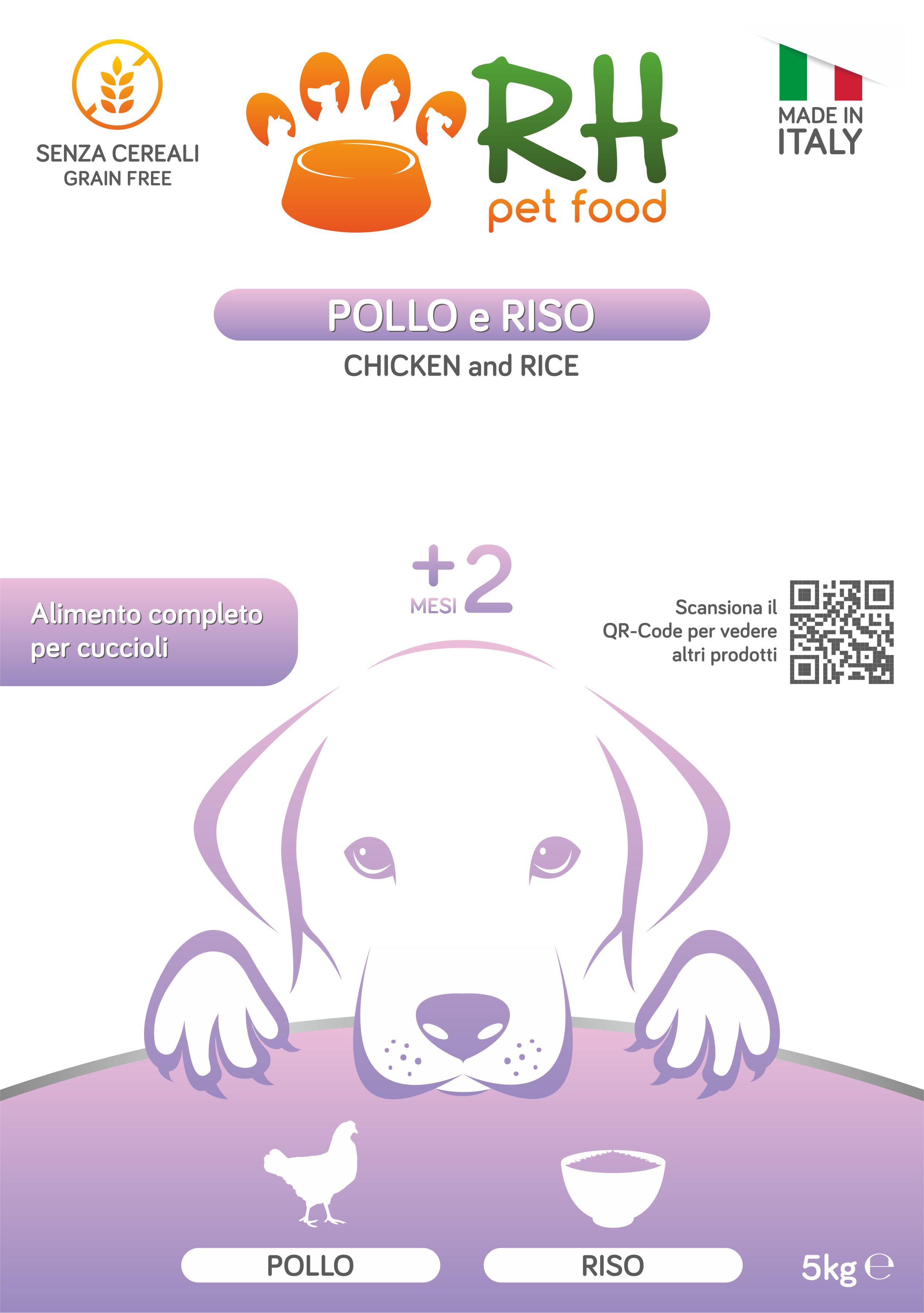 Pollo e Riso Puppy Daily Care