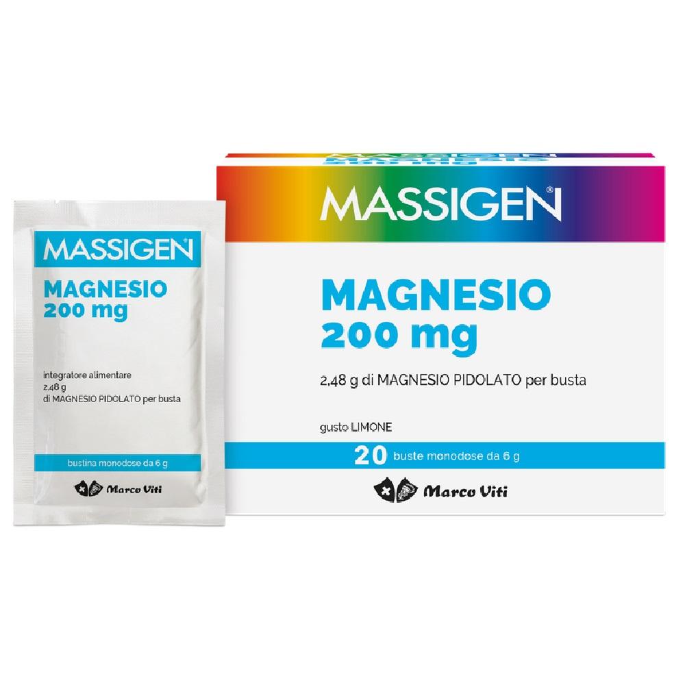 Magnesio-  Sali Minerali Massigen