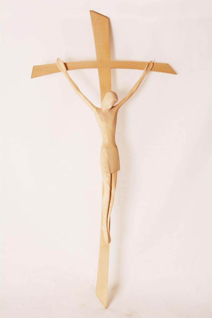 Crocefisso in legno cm 60