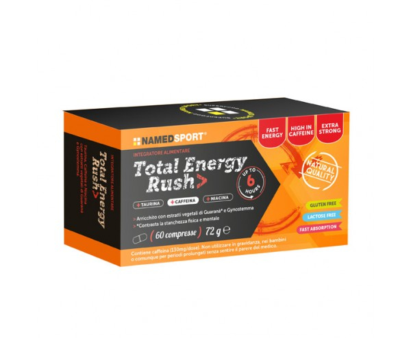 Named Sport Total Energy Rush 60 Tavolette