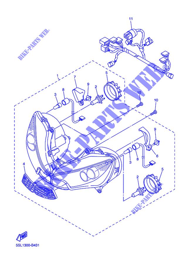 Coperchio DX Yamaha YZF-R6/R46