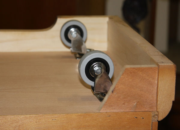 Casters for furniture
