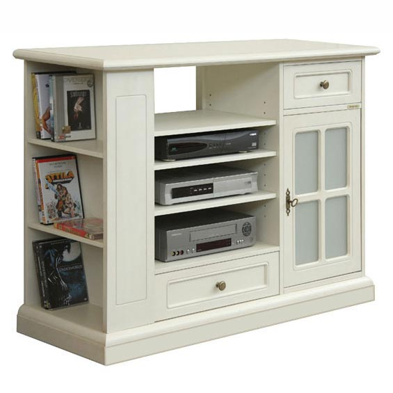TV stand  code N° 4650-QGAV with frosted glass