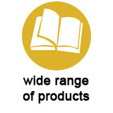 wide range products